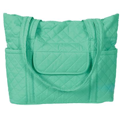 Retro Tote Bag, Teal