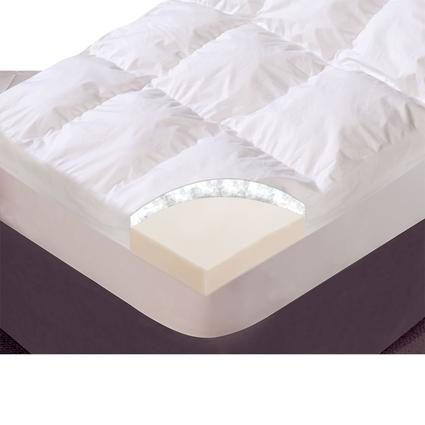 Simply Exquisite Mattress Topper, Short Queen