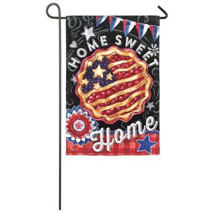 Patriotic Pie Garden Flag