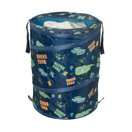 Roadtrip Themed Laundry Container