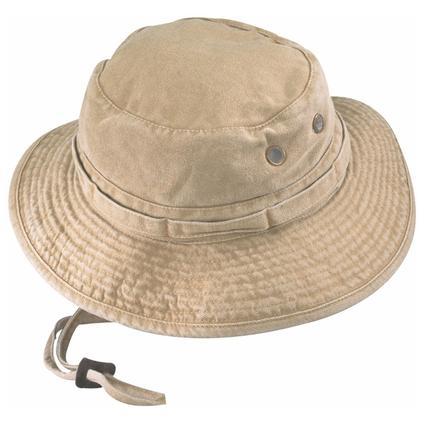 Khaki Bucket Fishing Hat, Large