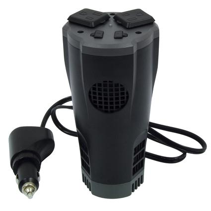 PowerDrive - 200W Cup Inverter with Dual USB Ports