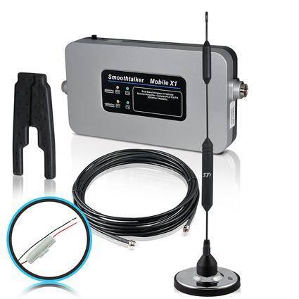 Smoothtalker RV Kit with Fused Install Power Supply & Magnetic Antenna