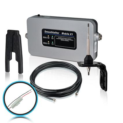 RV Kit with Fused Install Power Supply High Gain Antenna