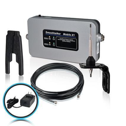 RV Kit with 120 Volt Power Source & High Gain Antenna