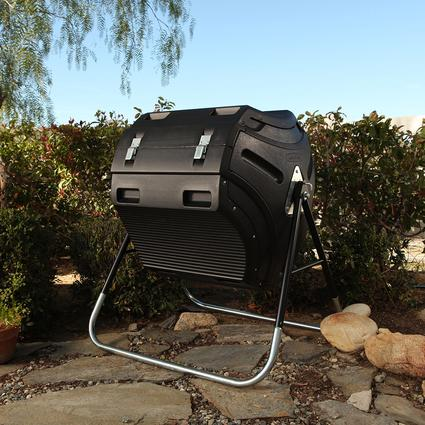 Compost Tumbler, 80 Gallon