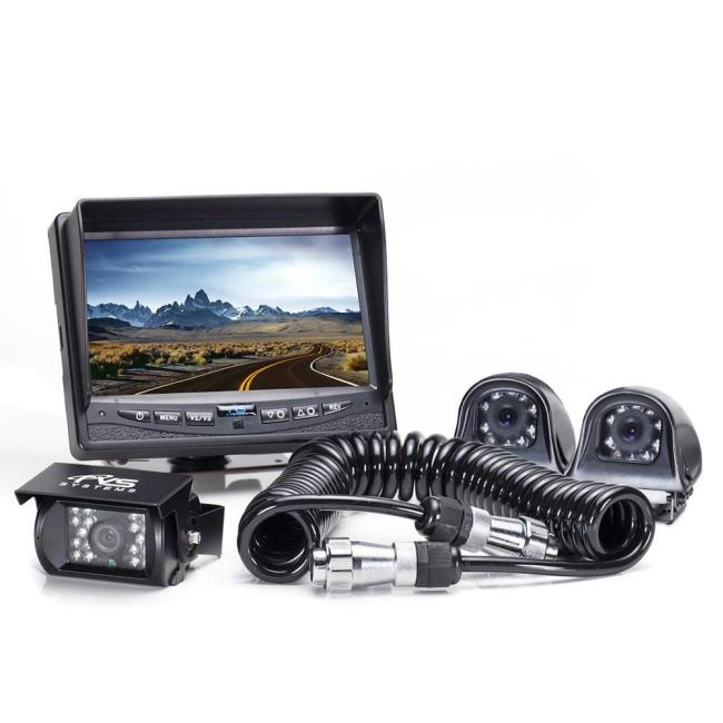 Rear View Camera System - Three Backup and Side Camera System with ...