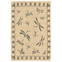 Gray Dragonfly Neutral Rug, 23