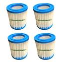 Vanish Spa Filter Cartridges, 4-Pack