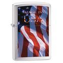 Zippo Lighter, American Flag