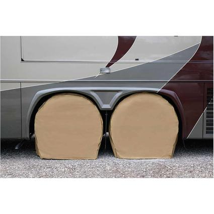 """Elements Tire Covers, Set of 4, Size 24""""-26"""""""