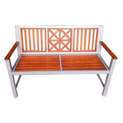 Laguna Park Bench with Synthetic Slats