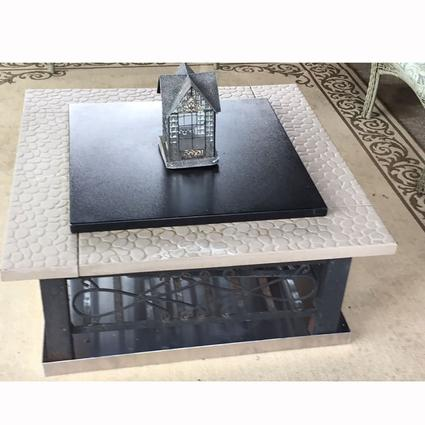 Square Fire Pit Cover, 24
