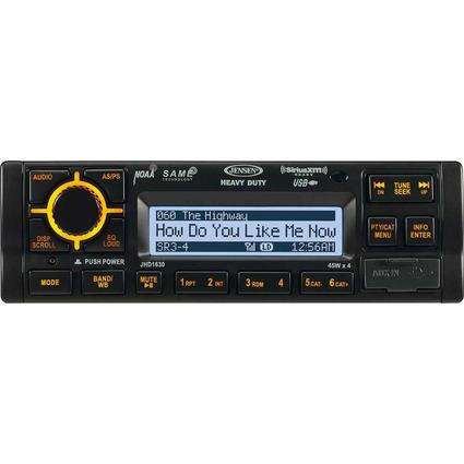 Jensen JHD1630B Heavy-Duty Stereo with Weatherband