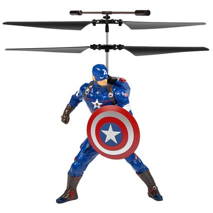 Remote Control 2-Channel Helicopter - Marvel Captain America
