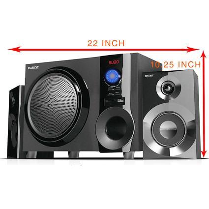 Bluetooth Shelf Speaker System, Black