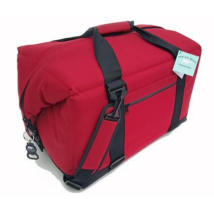 Polar Bear 48 Pack Cooler, Red