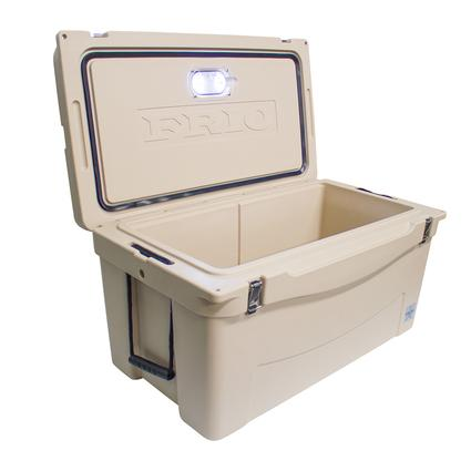 Frio Hard Side Ice Chest, Tan, 65 Qt.