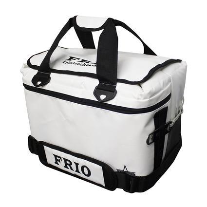 Frio Vault Soft Side Cooler, White, 24 Cans