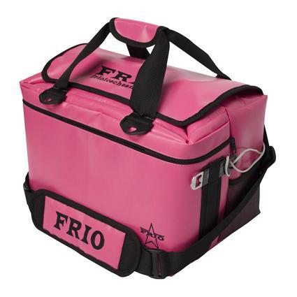 Frio Vault Soft Side Cooler, Pink, 24 Cans