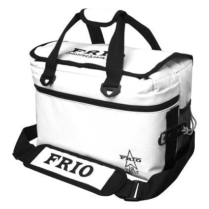 Frio Vault Soft Side Cooler, White, 12 Cans