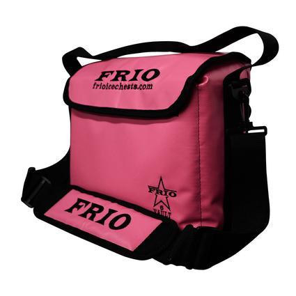 Frio Vault Soft Side Cooler, Pink, 6 Cans