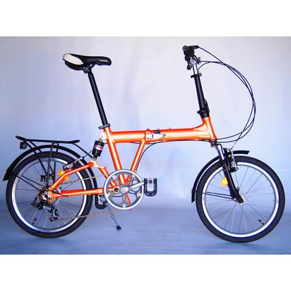 Origami Mantis Bike, Orange