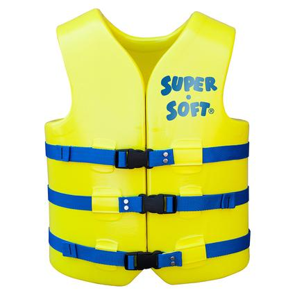 Super Soft Adult Life Vest, X-Large, Yellow