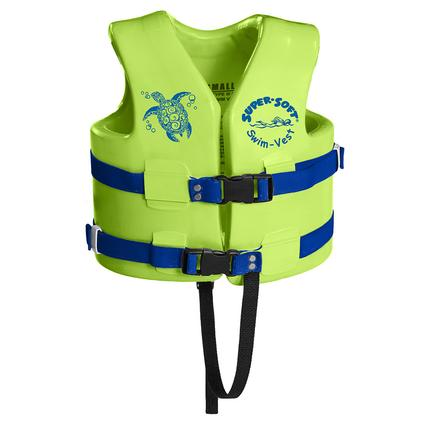 Super Soft Child Life Vest, Small, Kool Lime Green