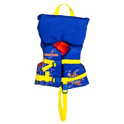 Super Soft Toddler Life Vest, Blue Turtle