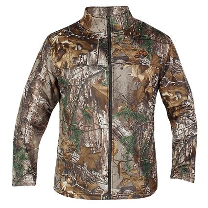 Realtree Men's Full Zip Microfleece Jacket, XL