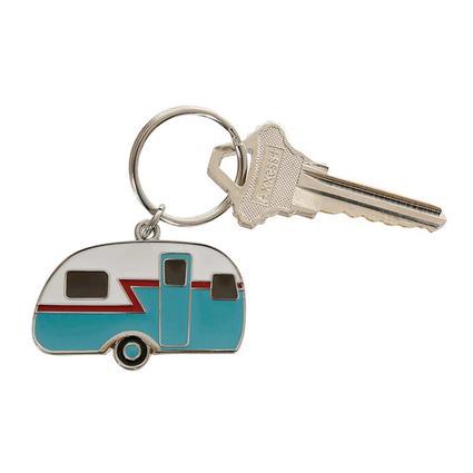 Retro Camper Keychain