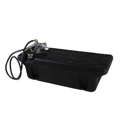 Titan In-Bed Auxiliary Fuel Tank, 60 Gallon Diesel Transfer Tank with 12-Volt Pump and Nozzle