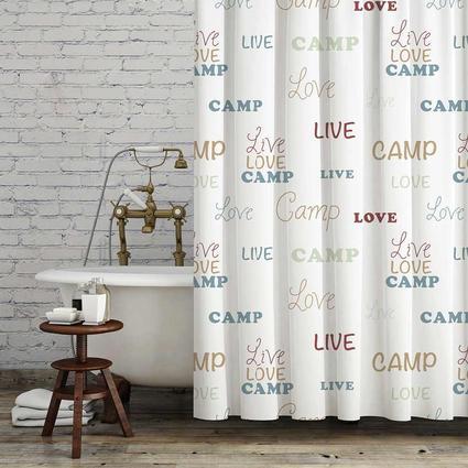 Live Love Camp Bath Set, White