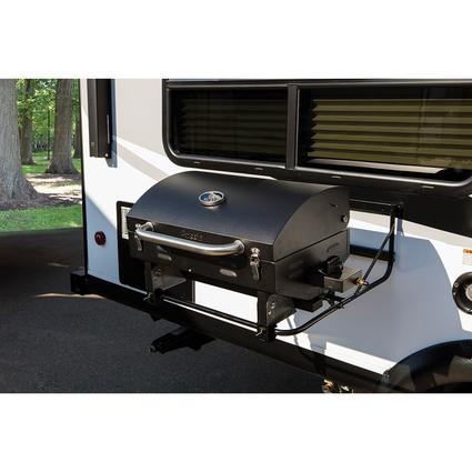 Stainless Steel Low Pressure Grill, Black