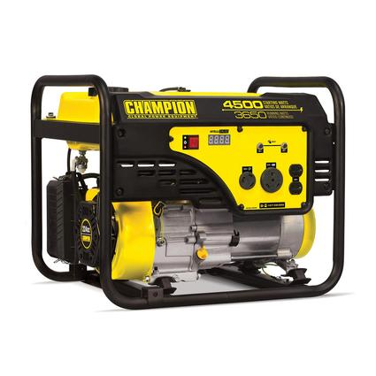Champion 3650 Watt Portable Generator, CARB Compliant