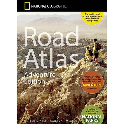 National Geographic Road Atlas Adventure Edition