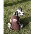 Happy Place Pet Tee Shirt, Brown, Small