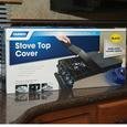 Black Universal Stove Top Cover