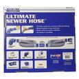 Blueline Ultimate Sewer Hose - 17