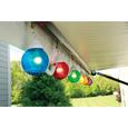 6 Multicolor Globe Lights with 30 Cord