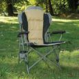 Padded Quad Chair, Tan