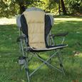 Padded Quad Chair, Tan