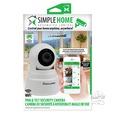 Pan & Tilt Wifi Security Camera