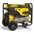 Champion 6500 Watt Portable Generator with Wheel Kit
