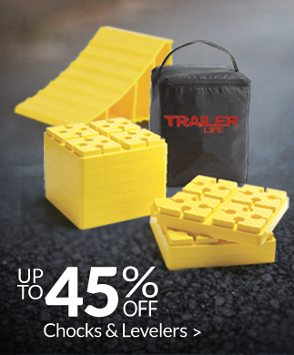 Save up to 50% on Chocks and Levelers!