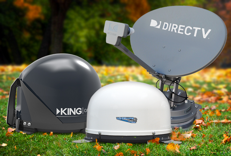 Save up to 45% on Satellite Antennas