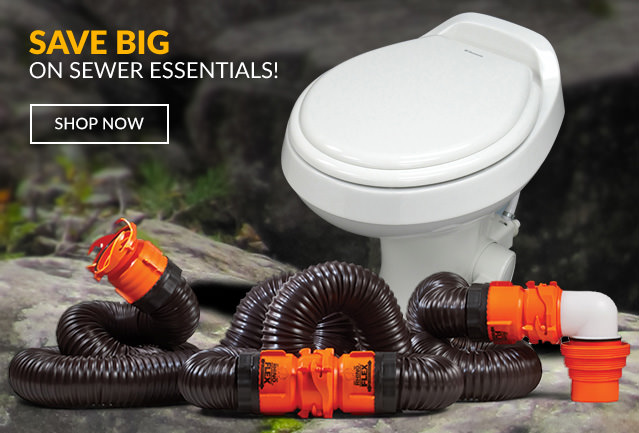 Save BIG on Sewer Essentials!